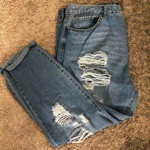 Boyfriend Style Jeans